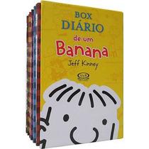 Livro - Box Diário De Um Banana - 07 Volumes - Lacrado