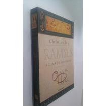 Livro Ramsés A Dama De Abu Simbel Christian Jacq Vol. 4