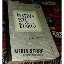 Livro Destrua Este Diário (silver Tape) Novo Sem Lacre