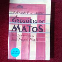 Livro - Poemas Escolhidos De Gregorio De Matos