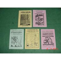 * Literatura De Cordel - 5 Livretos - R$ 25,00 O Lote *