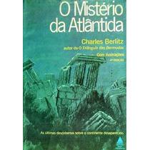 Livro-o Mistério Da Atlântida -charles Berlitz - Frte Gratis