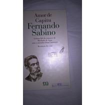 Livro Amor De Capitu Fernando Sabino