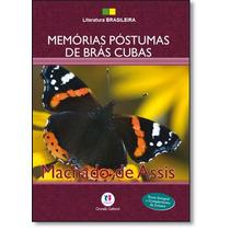 Livro Memórias Póstumas De Brás Cubas Machado De Assis F6,00