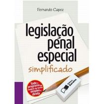 Livro Legislação Penal Especial Simplificado Fernando Capez
