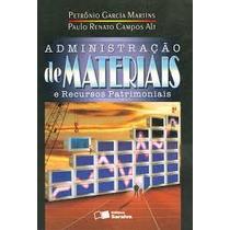 Livro Administração De Materiais E Recursos Patrimoniais Pet