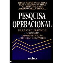 Livro Pesquisa Operacional Ermes Medeiros Da Silva