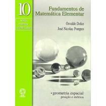 Livro Fundamentos De Matemática Elementar 10
