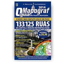 Guia De Ruas São Paulo Mapograf 2014