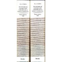 Diccionario De Construccion Y Regimen De La Lengua Castellan