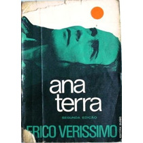 Ana Terra - Érico Veríssimo - Ano 1973 - Frete Grátis