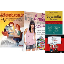 Lote De 4 Livros (timidez, Ache Tudo, Piadas, Transformar)