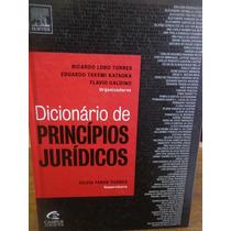 Livro - Dicionário De Princípios Jurídicos - Novo