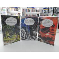 Trilogia O Senhor Dos Anéis - J. R. R. Tolkien - 3 Livros