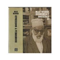 Livro Economia Y Sociedad Max Weber - Novo!