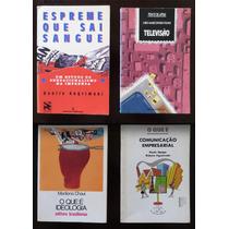 4 Livros Espreme Q Sai Sangue Televisão Ideologia C.empresa