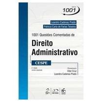 1001 Questoes Comentadas De Direito Administ - 9788530949945