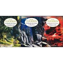 Trilogia O Senhor Dos Anéis - J. R. R. Tolkien - 3 Volumes