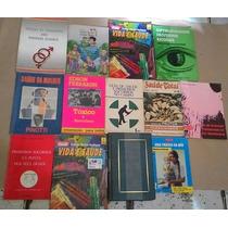 Lote Com 31 Livros De Saúde Geral