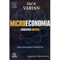 Livro Microeconomia Principios Básicos Hal R. Varian