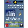 Apostila Digital Prefeitura Natal Rn Cuidador 2016