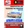 Apostila Prefeitura Teixeira Freitas Ajudante E Aux 2015