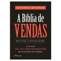 Livro A Biblia De Vendas Frete Grátis!