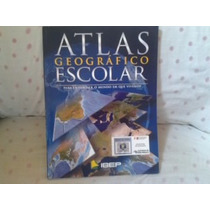 Livro- Atlas Geografico Escolar Ibep Frete Gratis