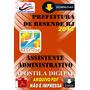 Apostila Digital Pref Resende Rj Assistente Administrativo