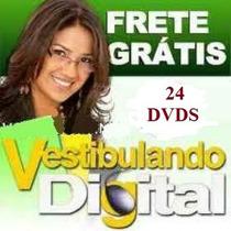 Vestibular - Enem E Concursos 24 Dvds Completo !!!
