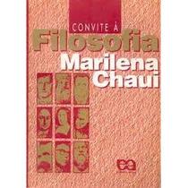 Livro Convite À Filosofia - Marilena Chaui