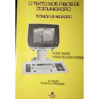 Livro O Texto Nos Meios De Comunicação: Técnicas De Redação