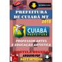 Apostila Digital Prefeitura Cuiaba Mt Professor Artes Educ