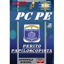 Apostila Digital Concurso Pc Pe Perito Papiloscopista 2016