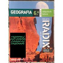 Livro Geografia 6º Ano Manual Professor--projeto Radix.