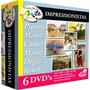 Coleção Com 6 Dvds Grandes Mestres Da Arte Impressionistas