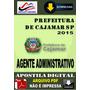 Apostila Concurso Prefeitura Sp Cajamar Ass Administrativo