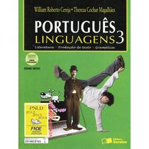 Português - Linguagens 3 - Ensino Médio - Frete Grátis