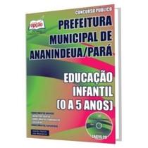 Apostila Prefeitura Ananindeua Professor Educação Infantil
