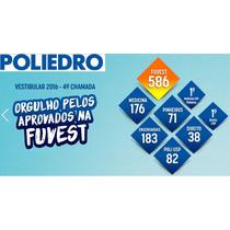 39 Livros Poliedro 2015 Coleção Completa Vest.medicina