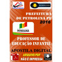 Apostila Digital Pref Petrolina Pe Professor Educ Infantil
