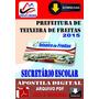 Apostila Prefeitura Teixeira Freitas Ba Secretario Escolar