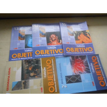 Coleção Objetivo Com 5 Livros Semi-novos Para Vestibular