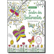 Jardim Dos Sentimentos - Livro De Colorir Antiestresse - Co