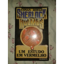Um Estudo Em Vermelho - Livro Sherlock Holmes - Conan Doyle