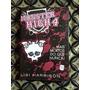 Livro Monster High 4 Novo