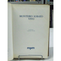 Livro - Monteiro Lobato Vivo - Cassiano Nunes ( Coordenação)