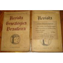 Revista Genealógica Brasileira - 1944 / 1945 - 2 Volumes