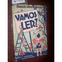 Cartilha Vamos Ler Renato Seneca Fleury 1946