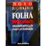 Novo Dicionário Folha Websters Inglês/port Portugues/ingles